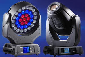 Moving Head Stage Lighting Hire